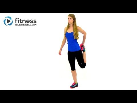 Light Cardio and Stretching Cool Down Workout - Relaxing Stretches for Flexibility