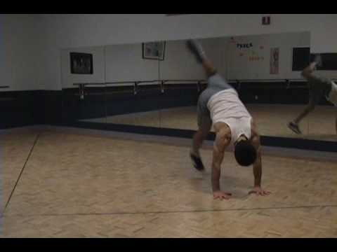 Breakdancing How to Baby Swipe Tutorial