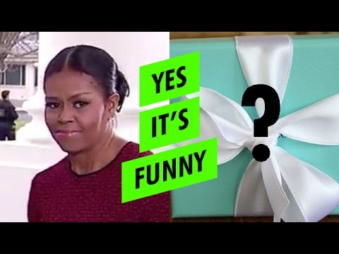 REVEALED: Melania Trump's gift to Michelle Obama - YouTube
