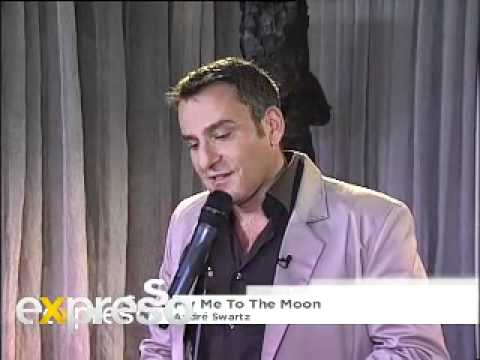 Andre Schwartz performs 'Fly Me to the Moon' live on Expresso (04/06/2011)