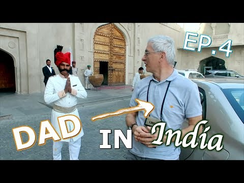 DAD'S INDIA SURPRISE: THE FAIRMONT JAIPUR HOTEL | TRAVEL VLOG IV