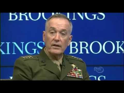 Dunford Speaks at Brookings Institution