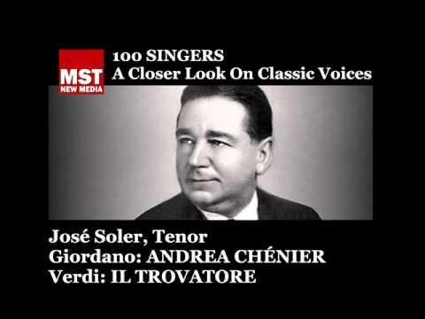 100 Singers - JOSÉ SOLER