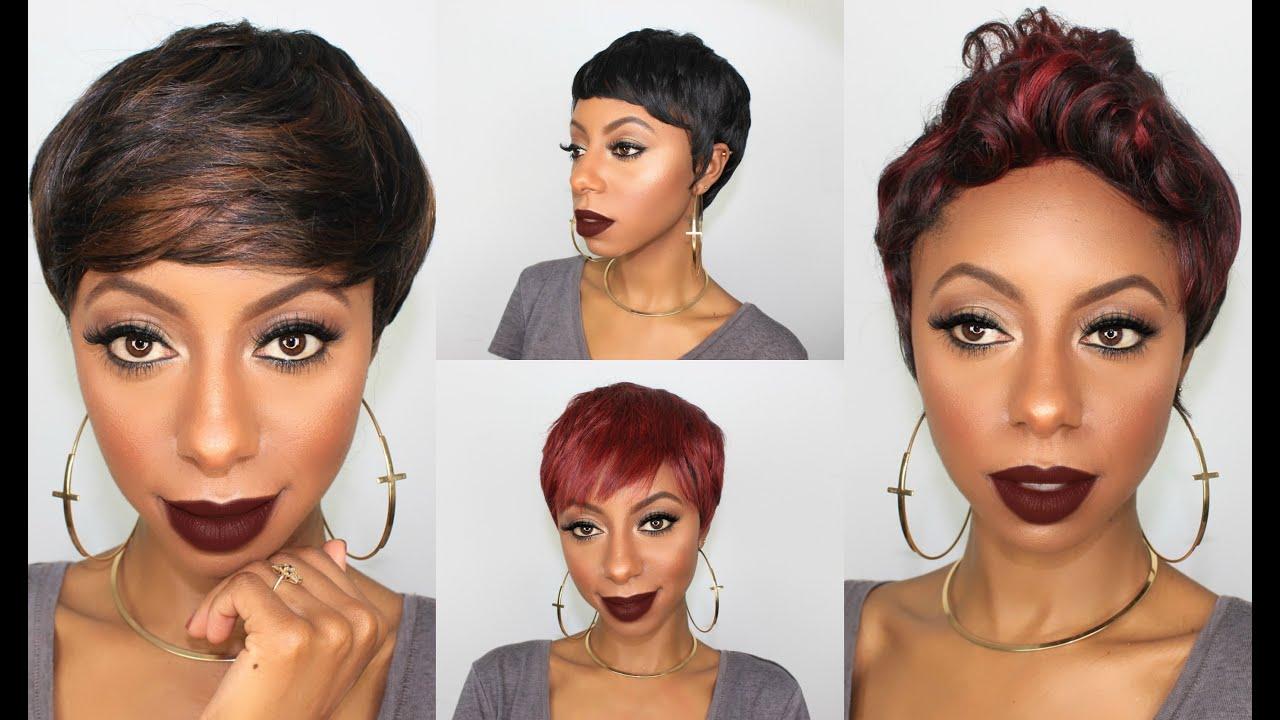 Short pixie cut wig jessica pettway youtube short pixie cut wig jessica pettway winobraniefo Images
