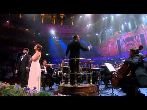 Sierra Boggess & Julian Ovenden singing People Will Say We're In Love from BBC Proms 2010