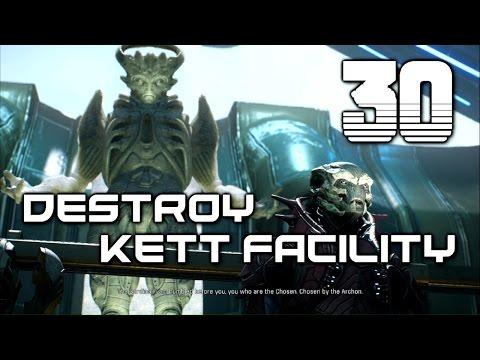 MASS EFFECT: ANDROMEDA Insanity Walkthrough - Trail of Hope: Kett Facility | Part 30
