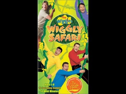 The Wiggles - Wiggly Safari 1997 VHS