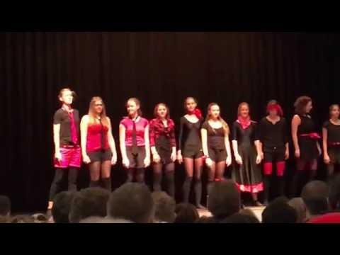 Jazz Dance Corgémont - 11 décembre 2016 - groupe 16-25 ans