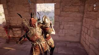 Assassin's Creed Origins - Anubis outfit stealth gameplay