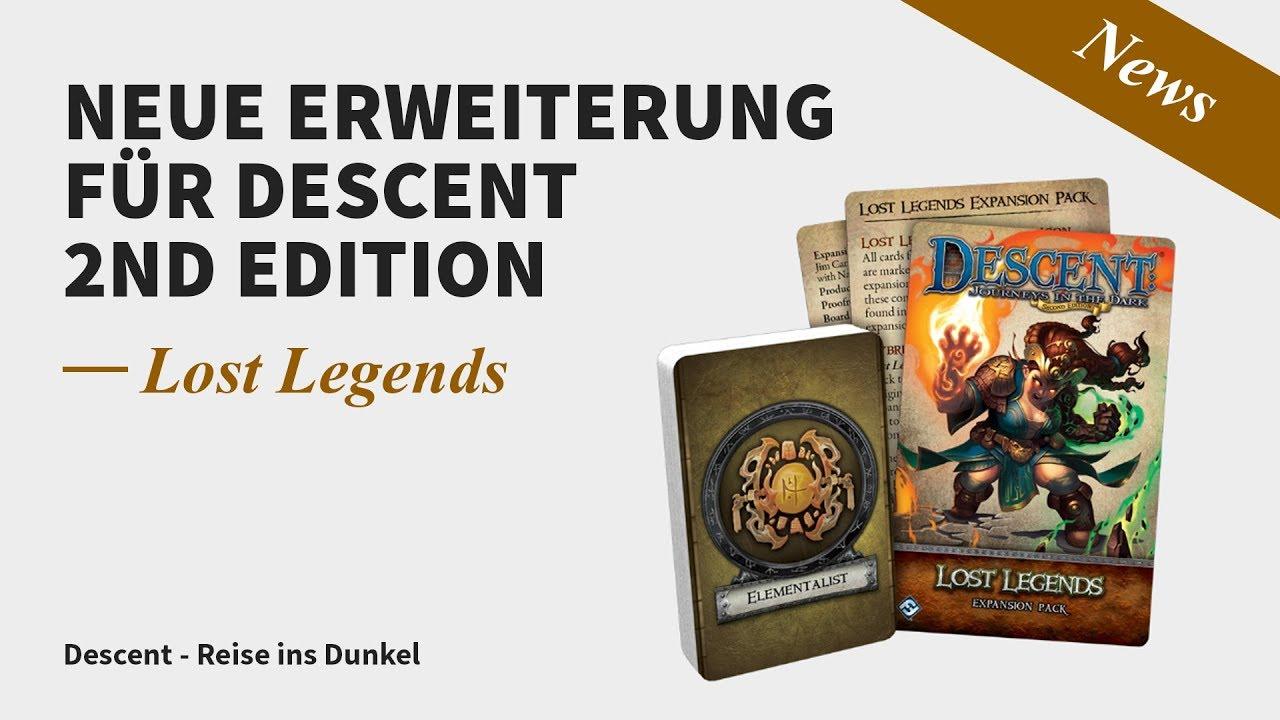 Lost Legends Brettspiel