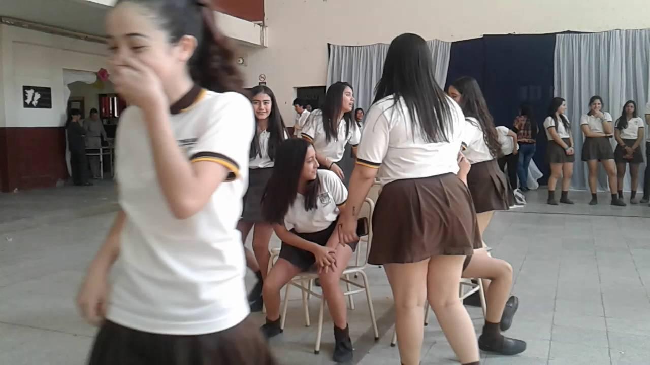 Juegos de la silla colegio Santo Tomad