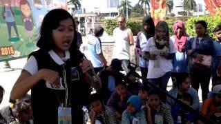 Cinta Mustika Alyda Juara Lomba Mendongeng