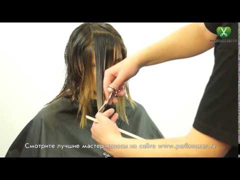 Каре с мелированием на темные волосы фото