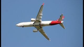 Video Qantas airways RC Boeing 737 MAX 8 5th flight download MP3, 3GP, MP4, WEBM, AVI, FLV Agustus 2018