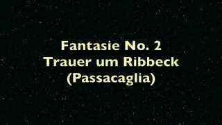 Fantasie No. 2, für Violine und Klavier von Hanspeter Reimann