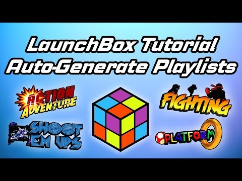 Auto-Generate Playlists And Clean Up Media - LaunchBox