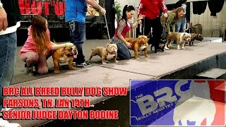 brc all breed dog show judged by senioir judge dayton bodine of the world famous killinois kennels