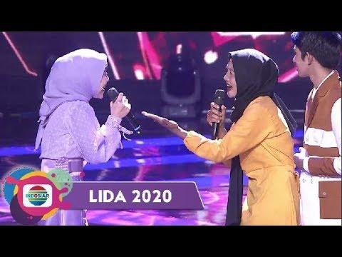 GAK NYANGKA!! Bunda Angga-Kalbar Bisa Imbangi Duet Dengan Lesti DA | LIDA 2020