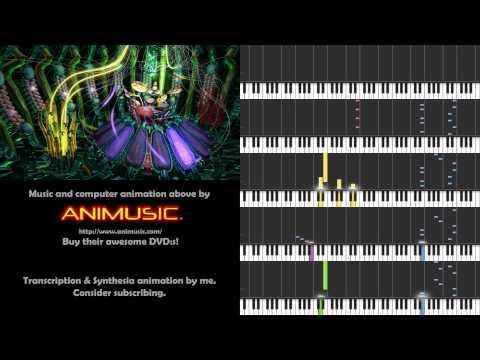Animusic 2 - Fiber Bundles [Synthesia sheet music]
