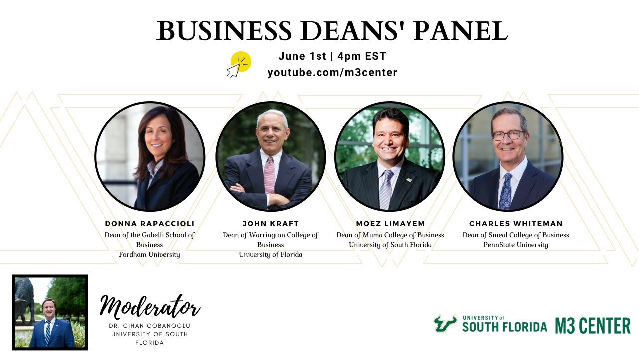 Business Deans' Panel: COVID-19 and Business Education
