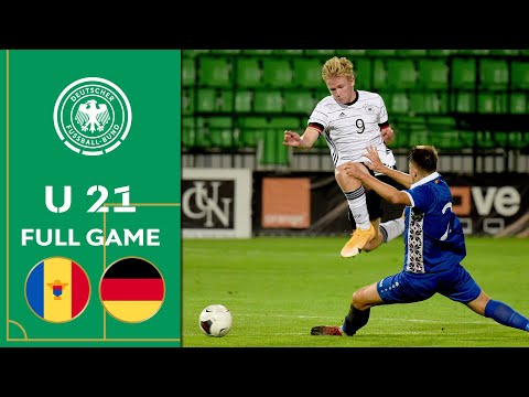 Moldova vs. Germany 0-5 | Full Game | U 21 Euro Qualifiers