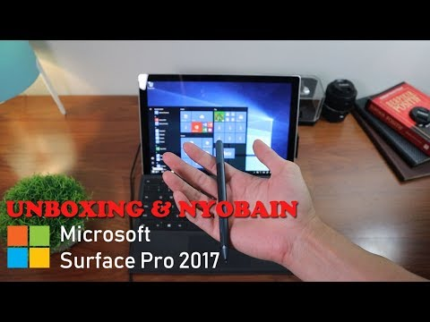 Unboxing & First Look Microsoft Surface Pro | Bahasa Indonesia
