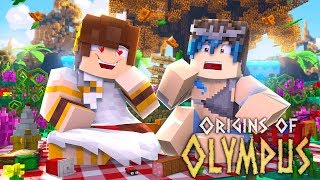 "Minecraft Origins of Olympus - ""BOYFRIEND TAKES ME ON A DATE!"" #2 (Minecraft Percy Jackson Roleplay)"