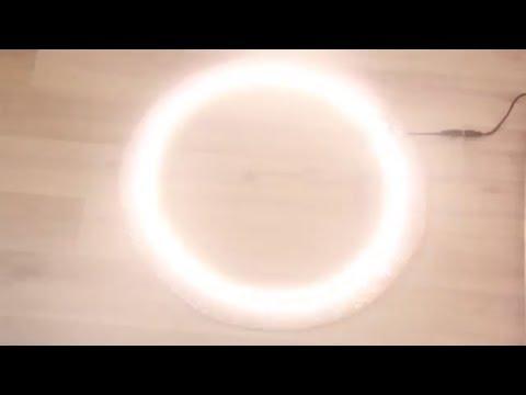 Светодиодное кольцо для селфи и съемок своими руками. Cheap DIY Ring Light