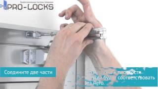 видео Установка дверного доводчика