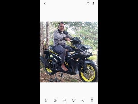 Review my motor cycle - Yamaha Aerox 155 VVA 2019.
