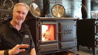 How to use the Esse Ironheart wood stove