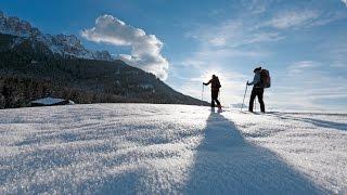 Urlaub auf dem Bauernhof im Winter - Roter Hahn // Attività in inverno al maso - Gallo Rosso