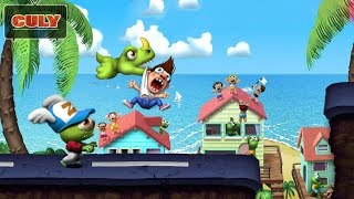 chơi Zombie Tsunami con ma siêu quậy chạy ăn vàng cu lỳ chơi game lồng tiếng vui