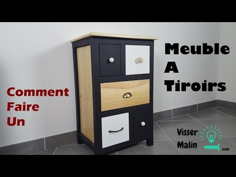 Comment fabriquer un meuble à tiroirs - EP32