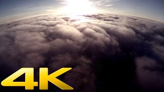 DJI Phantom 2 GoPro 4 above the clouds 1500m 4K