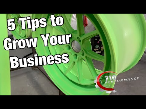 5 Tips to Grow Your Powder Coating Business