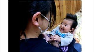 ねんねの赤ちゃんのあそび編