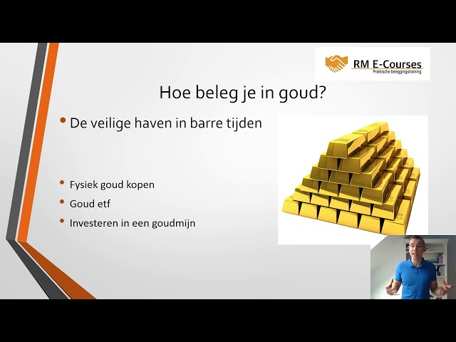 Hoe beleg je in goud film