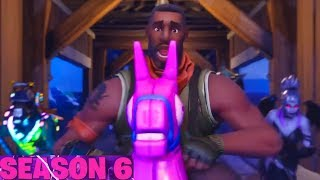 Fortnite SEASON 6 - BATTLE PASS New Skins, PETS, Emotes (Battle Royale)