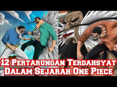 Inilah 12 Pertarungan Terdahsyat Dalam Sejarah One Piece Yang Tidak Diperlihatkan (Teori One Piece)