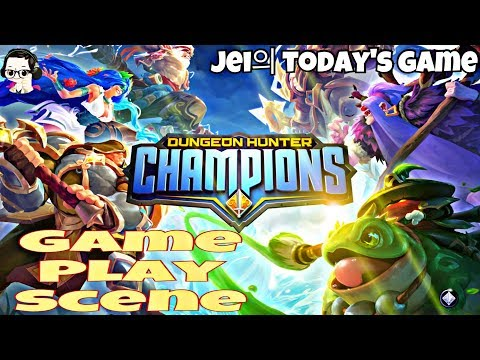 [Today's Game] Dungeon Hunter Champions (DHC) - 플레이 영상