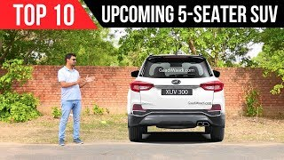 Top 10 Upcoming 5 Seater SUV in India in 2018, 2019