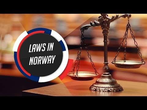 Laws in Norway ⚖️