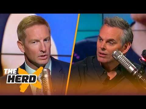 Why would anyone draft Baker Mayfield over Sam Darnold? | THE HERD