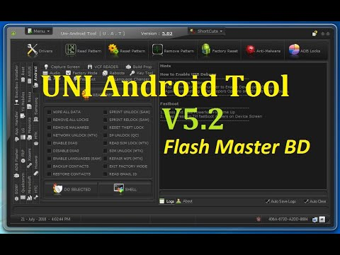 Uni-Android Tool V5.02 Full Cracked Without HWID