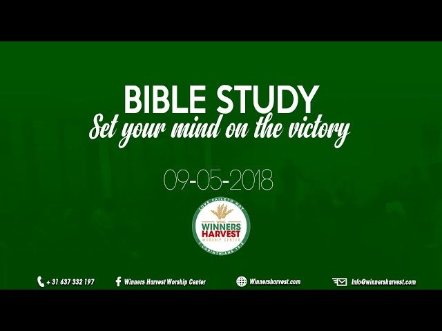 Set your mind on the victory 09-05-2018