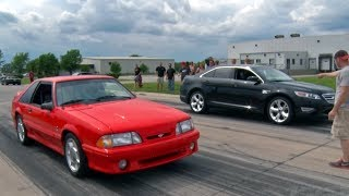 Cobra & STi taken down by a Ford Taurus!?!?!