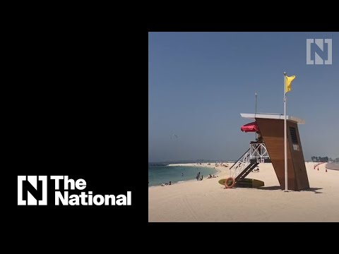 Beaches reopen in Dubai