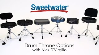 Exploring Drum Throne Options by Sweetwater Sound