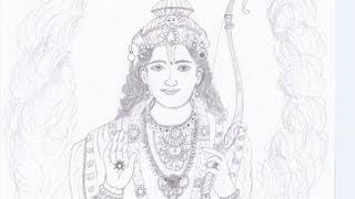Drawing Shri Ram